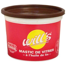 mastic vitrier l 39 huile de lin acajou 500 g will 39 s home boulevard. Black Bedroom Furniture Sets. Home Design Ideas
