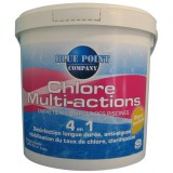 Chlore multi-actions 4 en 1 - 5 Kg