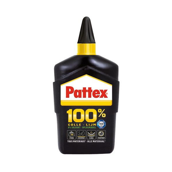 Colle multi-usages 100% - 200 g - 1541272 - PATTEX