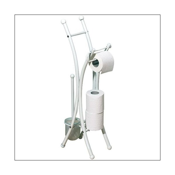 Valet WC Corfou - blanc  - 814011 - ALLIBERT