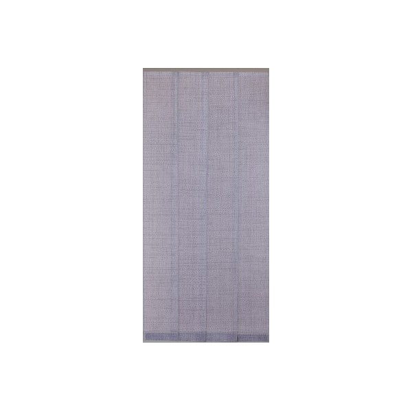 Moustiquaire Moustitendance 100x220 cm - quadrillage gris, noir - MOUSTITENDANCE - MOREL