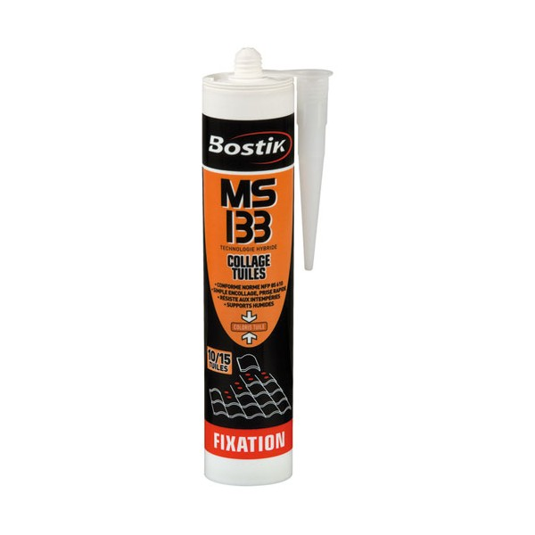 Mastic fixation MS 133 - 290 mL - 30135103 - BOSTIK PRO