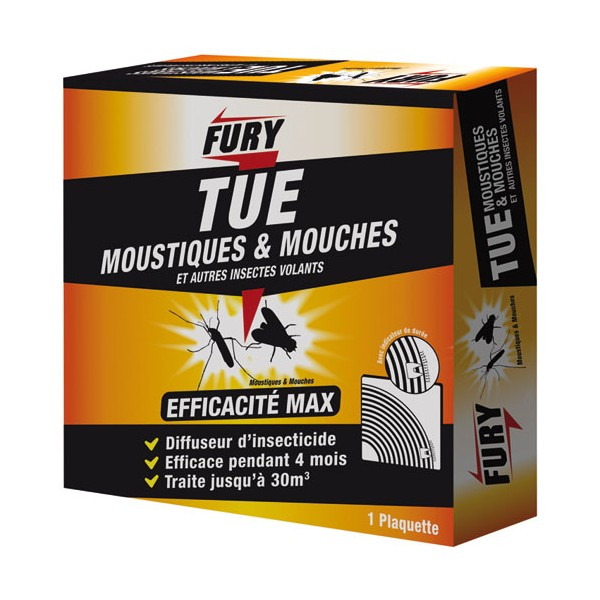 Cassette insecticide - 30 m3 - 1371301 - FURY