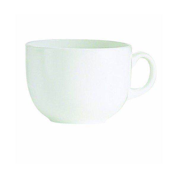 Tasse empilable - 9 cL - blanc - 1039841 - LUMINARC