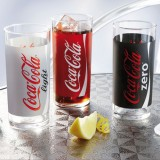 Lot de 3 verres Coca Cola Mix - 30 cL