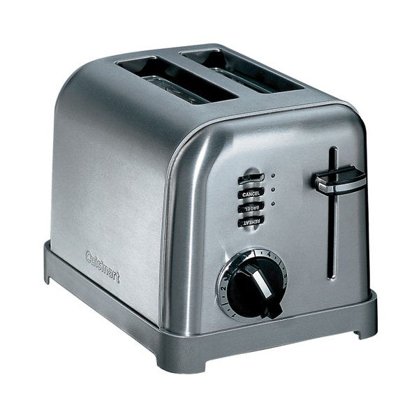 Grille-pain toaster CPT160E - 2 tranches - CPT160E - CUISINART