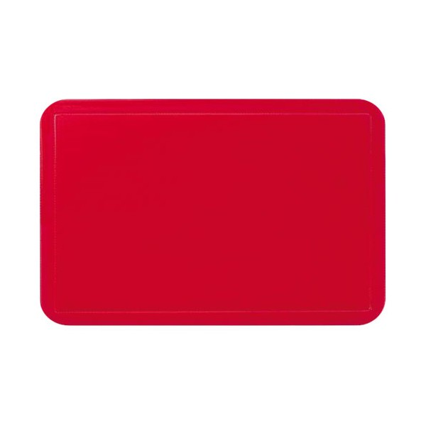 Set de table uni cm rouge 15001 kela - Set de table rouge ...