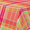 Nappe rectangulaire Match - 140x180 cm - madras