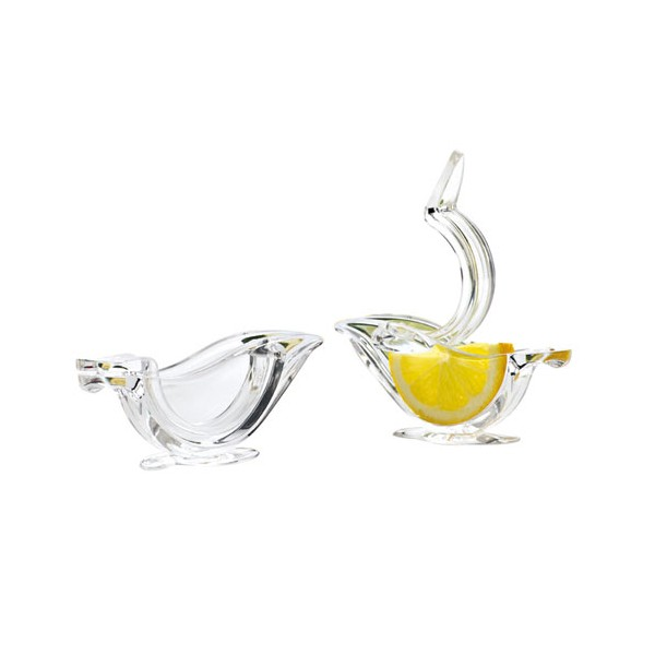 Lot de 2 presses citrons transparent - 262483 - CHOMETTE