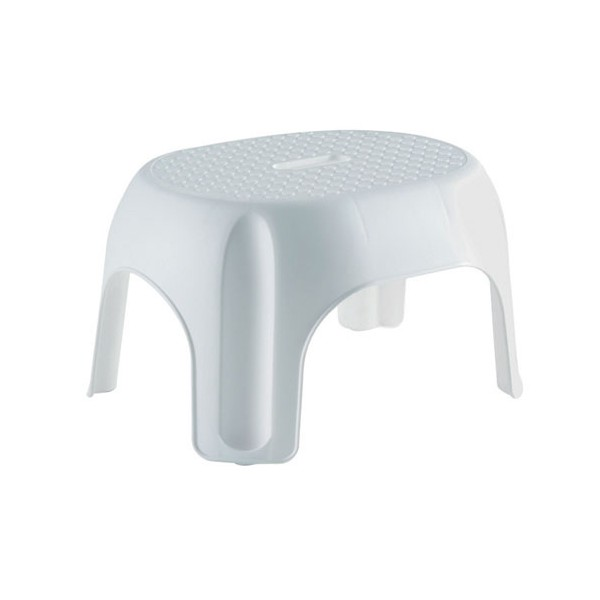 Tabouret evolia empilable blanc 191633 allibert home boulevard - Tabouret plastique empilable ...