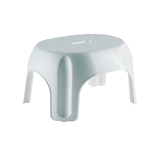 Tabouret evolia empilable - blanc - 191633 - allibert - home boulevard