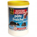 Raticide souricide - pâte - 400 g - Komax