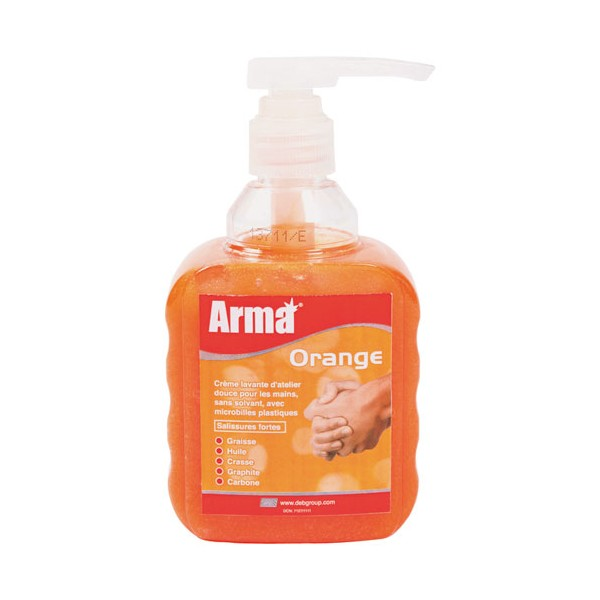 Crème lavante d'atelier - 450 mL - orange - AOG450ML - ARMA