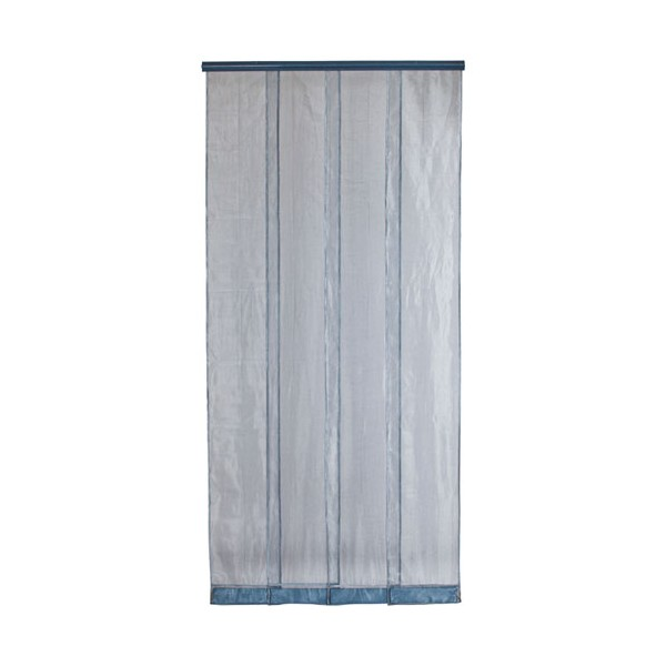Moustiquaire Mosquito maille polyester 100x220 cm - gris - MOSQUITO GRIS - MOREL