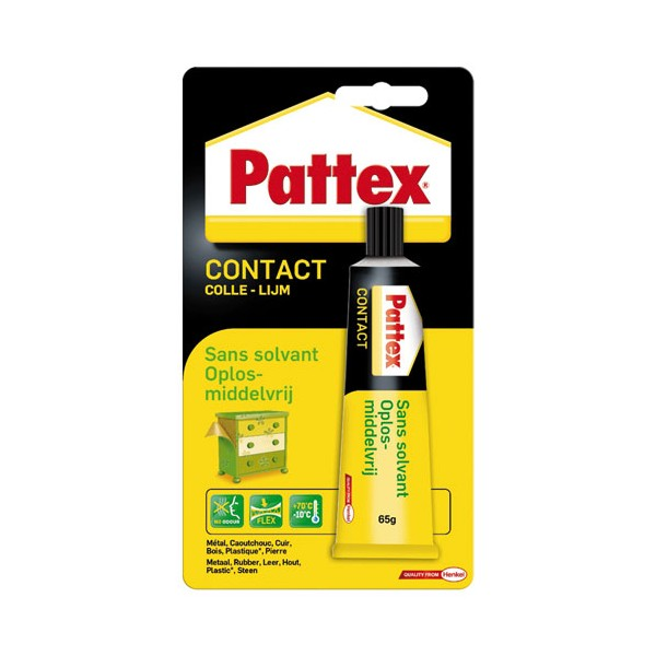 Colle contact sans solvant - 65 g - 1563698 - PATTEX