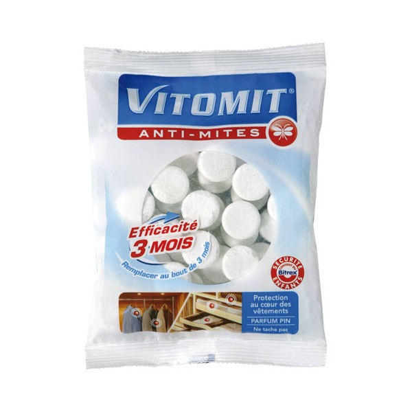 Anti mites vitomit 275 g 91100102 vitomit home for Produit anti mite