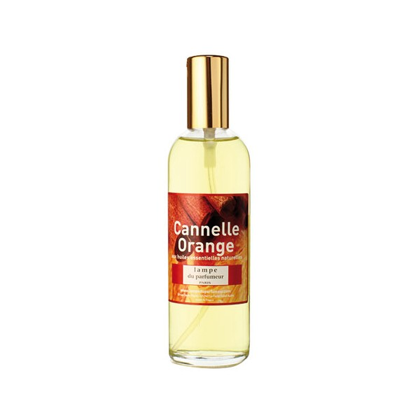 Vaporisateur d 39 ambiance 100 ml cannelle orange 511 for Lampe parfum d ambiance