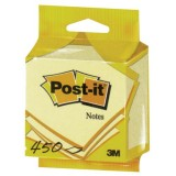 Bloc Post'it - 76x76 mm -  450 feuilles