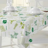 Nappe rectangulaire Match - 140x240 cm - aromates