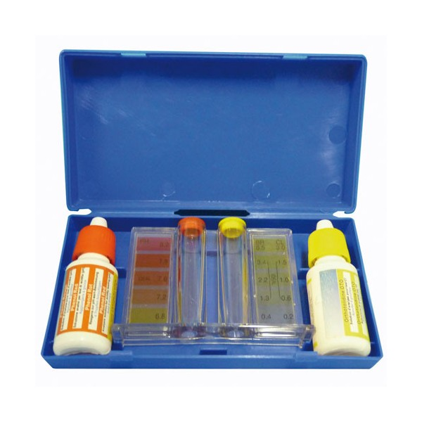 Trousse d'analyse pH-chlore - 8010100 - BLUE POINT COMPANY