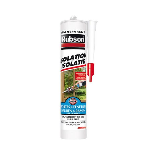 Mastic isolation - 280 mL - transparent - 2009467 - RUBSON
