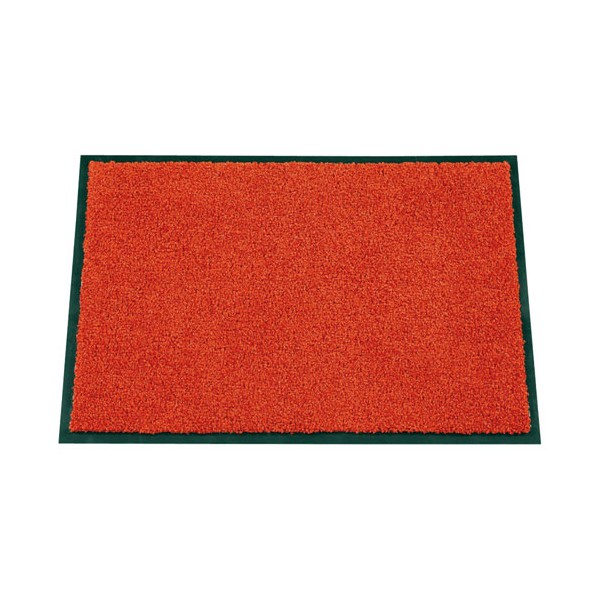Tapis absorbant Mirande - 40x60 cm - rouge - ID MAT