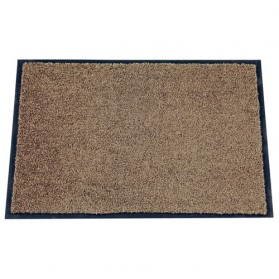 Tapis absorbant mirande 40x60 cm brun id mat home for Tapis de cuisine absorbant
