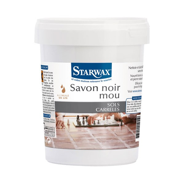 savon noir mou 1 kg 1255 starwax home boulevard. Black Bedroom Furniture Sets. Home Design Ideas