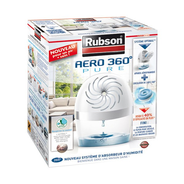 Absorbeur a ro 360 pure 20 m 1 recharge 2012175 rubson home boulevard - Recharge absorbeur d humidite rubson ...