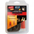 Kit tresse en fibre verre extensible 6 mm + collafeu
