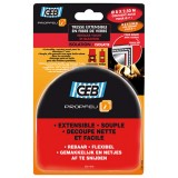 Kit tresse en fibre verre extensible 8 mm + collafeu