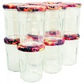 Pack 12 confituriers 385 mL - couvercle fruit