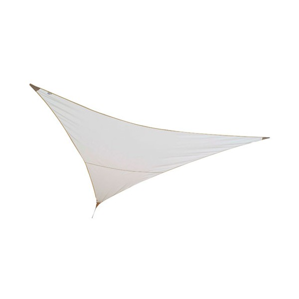 Voile ombrage triangulaire First - 3x3 m - sable - VSF 300 SABLE - JARDILINE