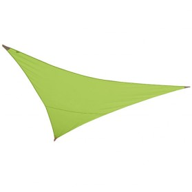 Voile ombrage triangulaire First - 3x3 m - vert pomme