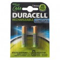 Accus HR03 AAA - 800 mAh - lot de 2 - 10671 - Duracell