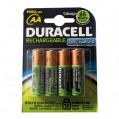 Accus HR06 - 1 950 mAh - lot de 4 - 10668 - Duracell