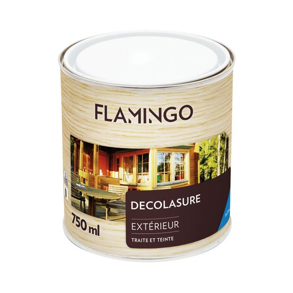Lasure Decolasure - 0.75 L -  pin doré - 160965702500750 - FLAMINGO
