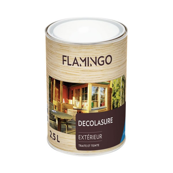 Lasure Decolasure - 2.5 L -  teck - 160965702500250 - FLAMINGO