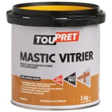 Mastic vitrier marron - 1 Kg