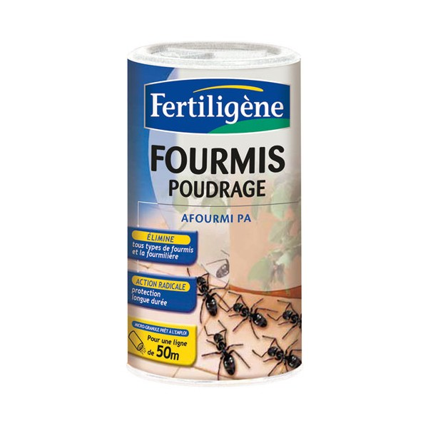 Anti fourmis poudrage 250 g fip250n fertiligene home boulevard for Peinture anti insecte