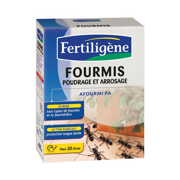 Anti-fourmis - poudrage 400 g - FIP400N - FERTILIGENE