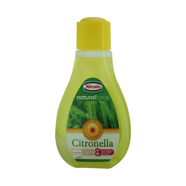 Mèche antimoustique - citronnelle - 375ml - 506615 - NICOLS