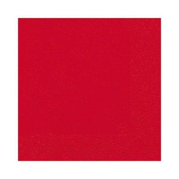 Serviettes jetables rouge 33 x 33 cm lot de 20 - 104062 - DUNI