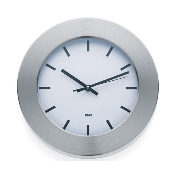 Horloge murale new york d 30 cm 17151 kela home for Horloge murale new york