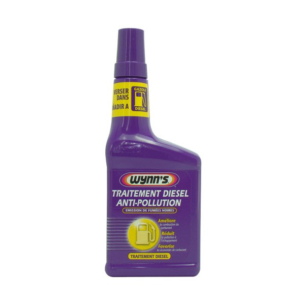 Traitement diesel anti pollution 325 ml - WL67960D - WYNN'S