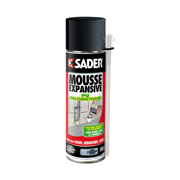 Mousse expansive 500 mL - 30602892 - SADER