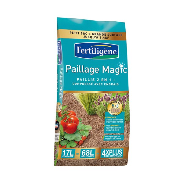 Paillage magic 17 L - FPMAG - FERTILIGENE