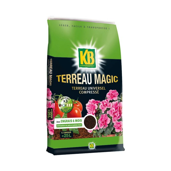 Terreau magic 8L - KBCOMP8 - KB