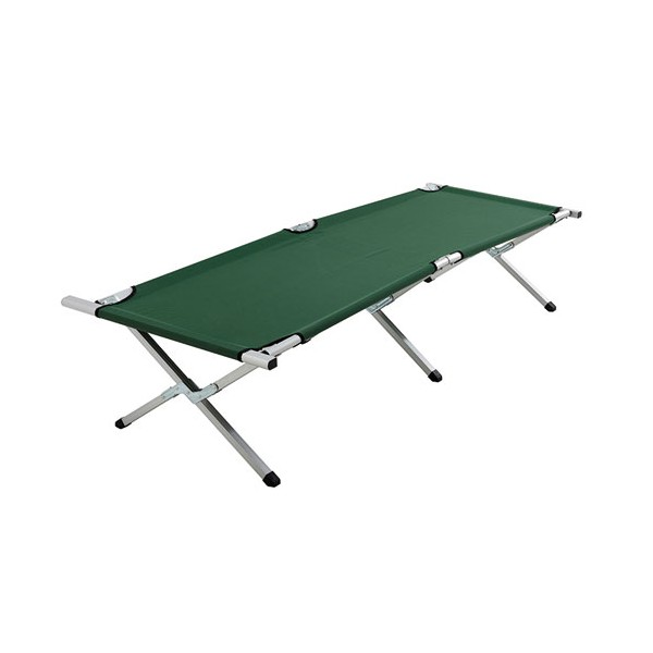 Lit de camp repliable en aluminium - 6322 - CAO