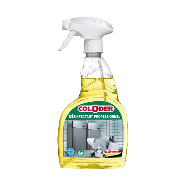 Coloder désinfectant pro 750 mL - 4666 - SANITERPEN